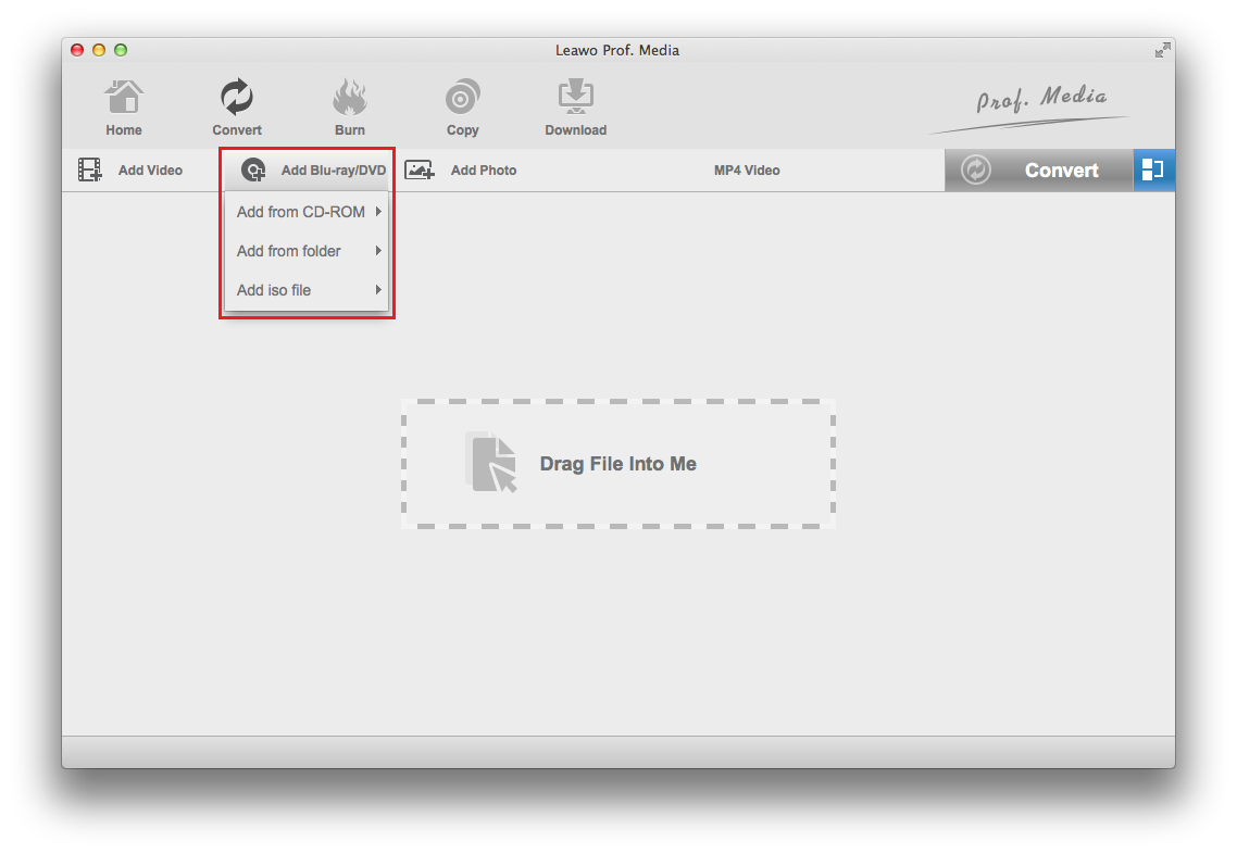Blue ray recorder for mac