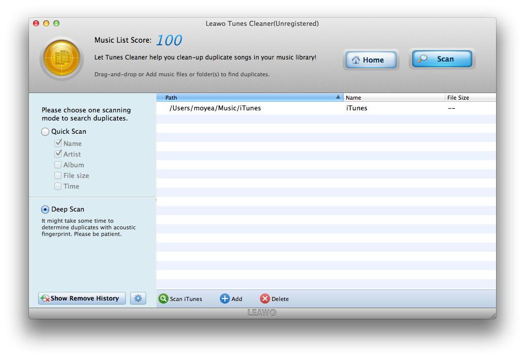 Scan-iTunes
