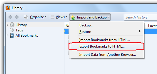 export-bookmarks-to-html