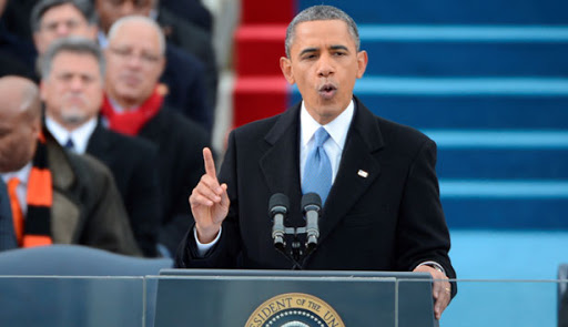Inauguration speech by Barack Obama