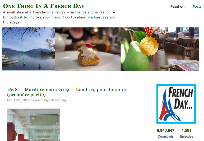 One-Thing-in-a-French-Day