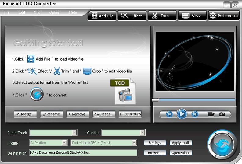 TOD-to-MPEG-Emicsoft-TOD-Converter-07