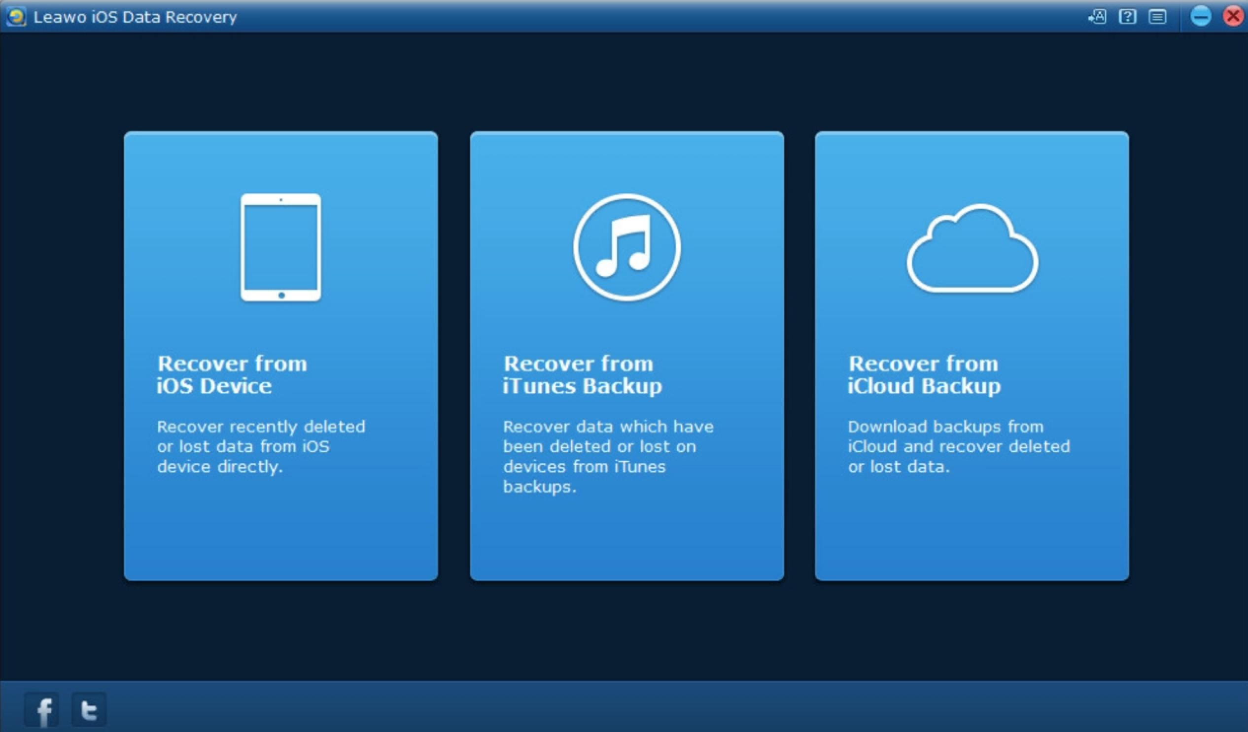 how-to-recover-data-on-Leawo-iOS-Data-Recovery 01