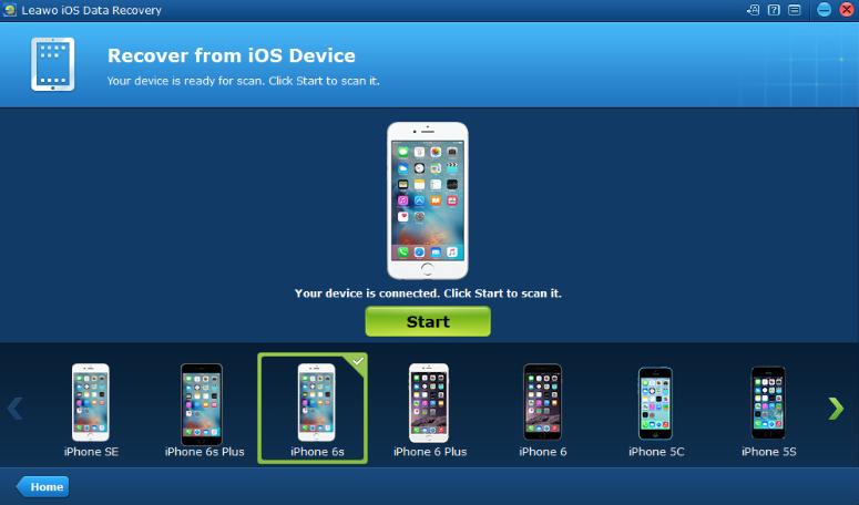 recover calendar with leawo ios recovery 02