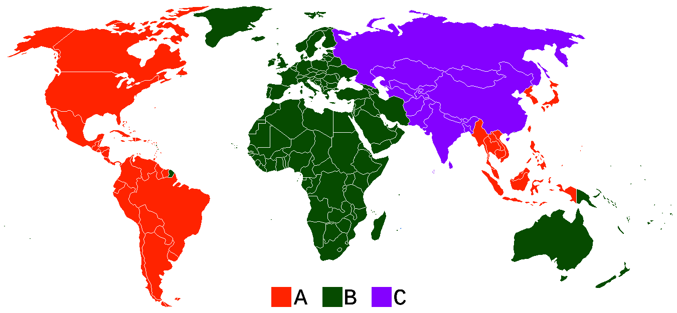 blu-ray-region-code-map
