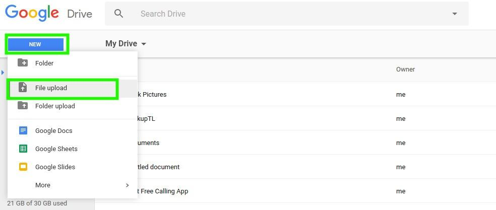 transfer-MP3-to-iPhone-with-Google-Drive-01