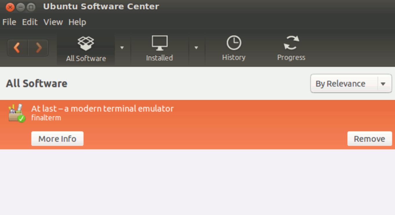 ubuntu-software-center