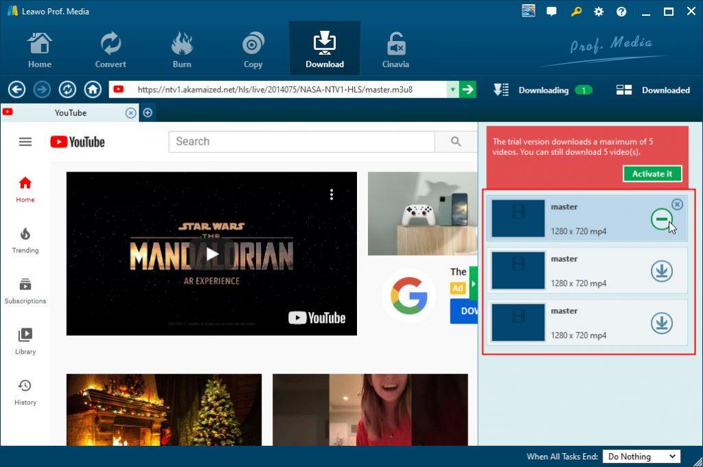 add-m3u8-video-to-download-queue