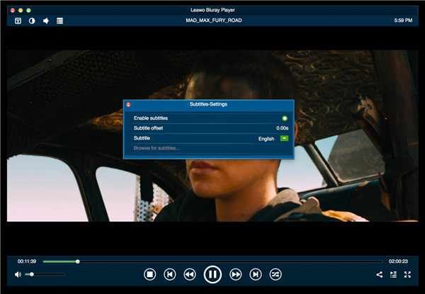 Subtitle-video-and-audio-settings