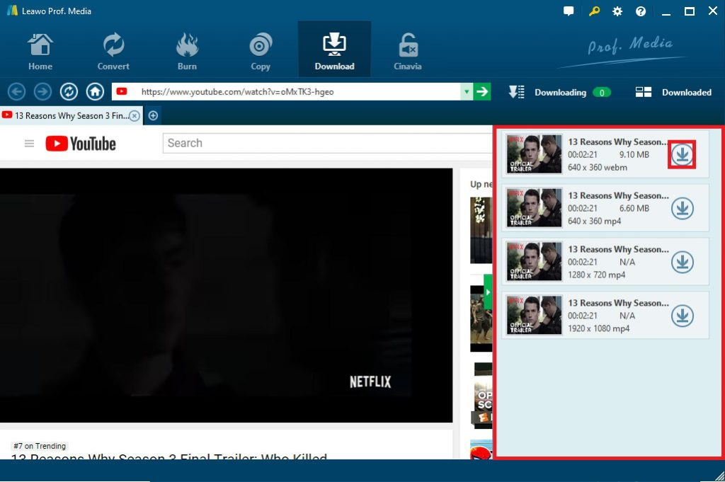 how-to-download-YouTube-videos-with-Leawo-Video-Downloader-04