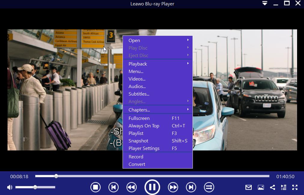 Play Blu-ray ISO