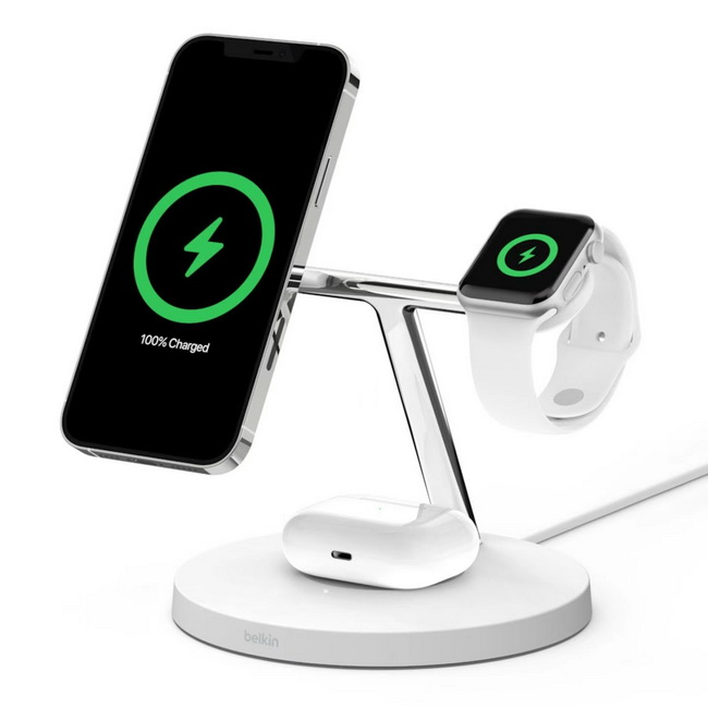 Belkin MagSafe 3-in-1 Wireless Charger-01