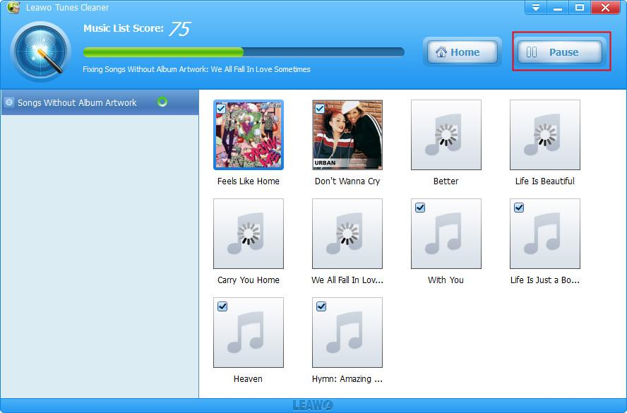 How to Edit Music Tag on PC with Leawo Tunes Cleaner-03