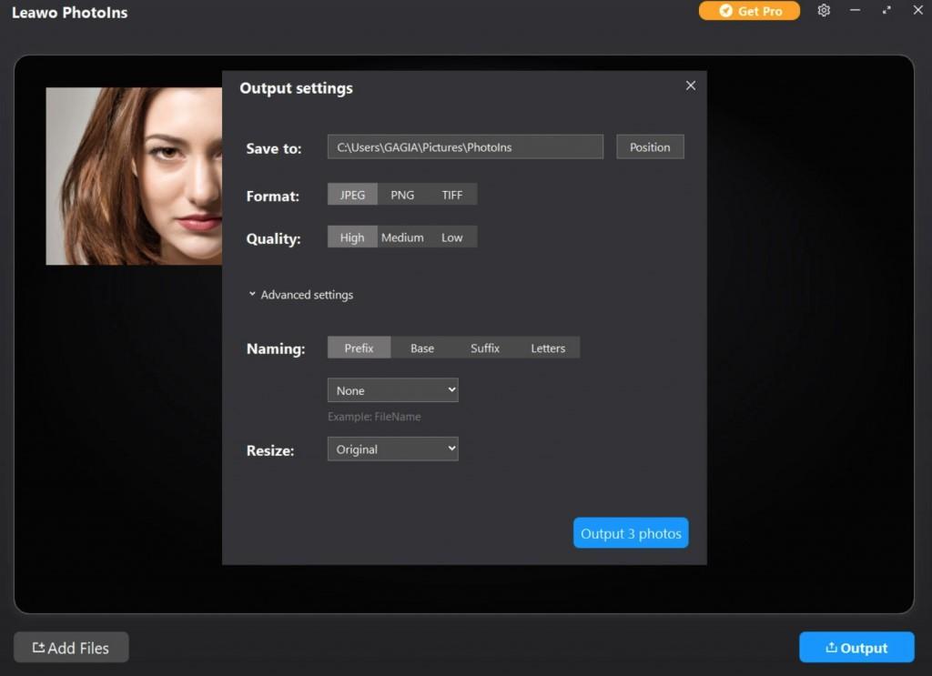 How to Enhance JPEG Image Quality with Leawo PhotoIns-03