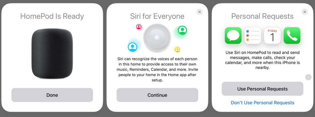 Send and read messages through HomePod-01