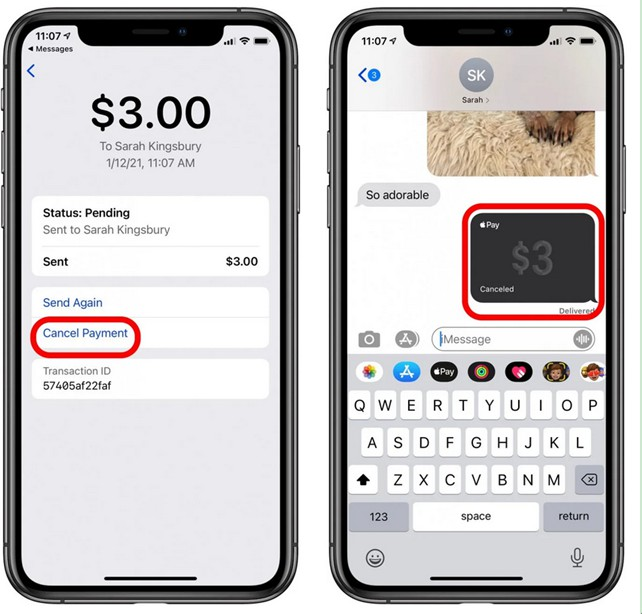 how-to-accept-and-cancel-payment-iphone-8