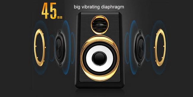 vibrating diaphragm