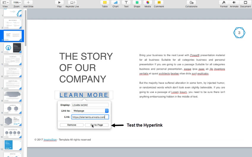 Test-the-Keynote-web-page-hyperlink