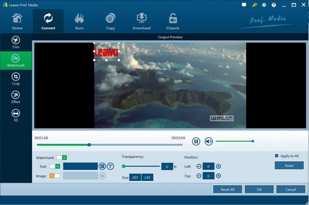 edit-m2ts-video-via-leawo-blu-ray-ripper-tadd-watermark-9