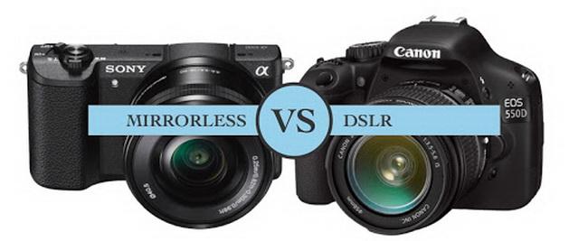 mirrorless vs. dslr