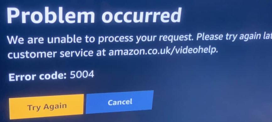 Amazon-Error-Code-5004