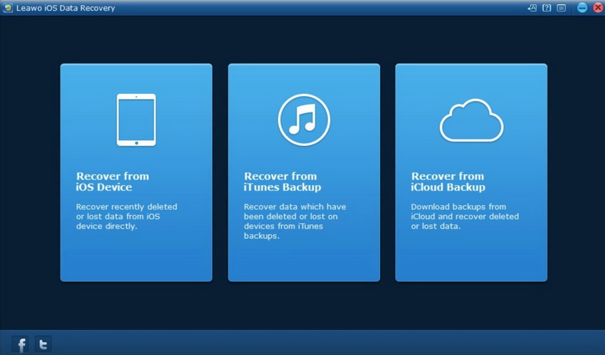 Restoring from backup via Leawo iOS Data Recovery-01
