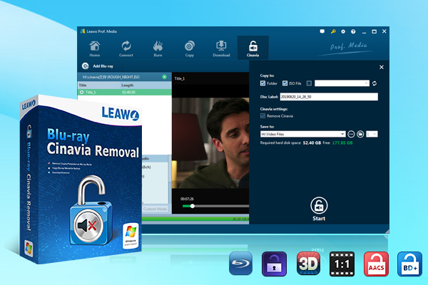 Leawo Blu-ray Cinavia Removal