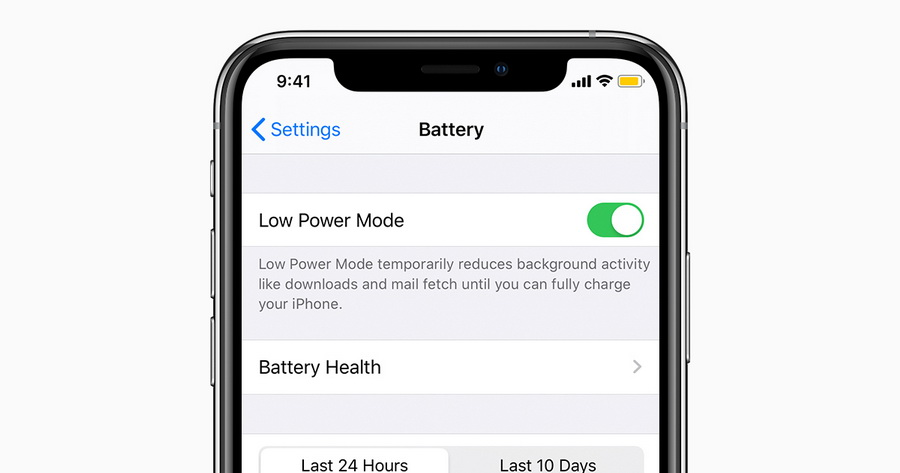 iphone-low-power-mode-to-fix-iphone-stuck-on-transferring-data