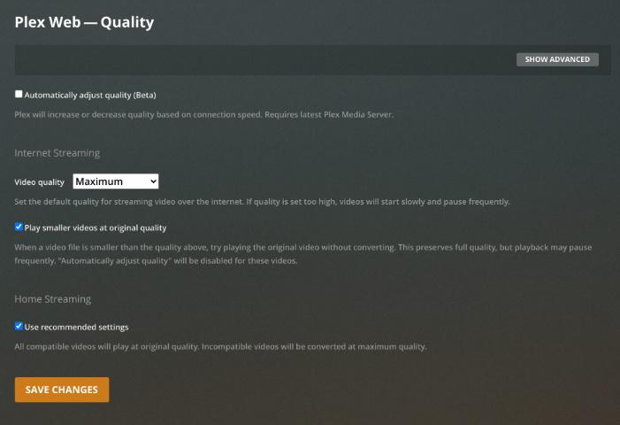 plex-quality