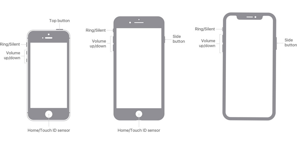 reboot-iphone-to-fix-iphone-alarm-no-sound