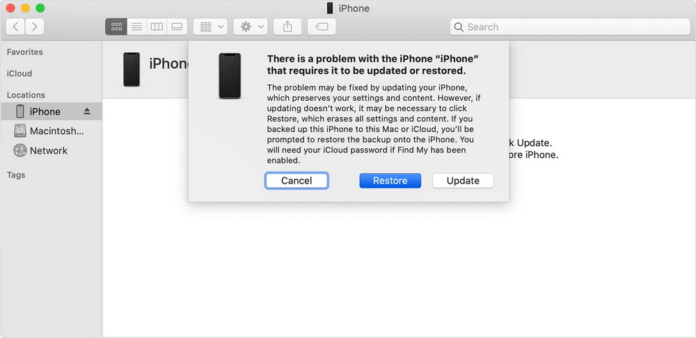 restore-in-itunes-to-fix-iphone-stuck-on-spinning-wheel-update-4