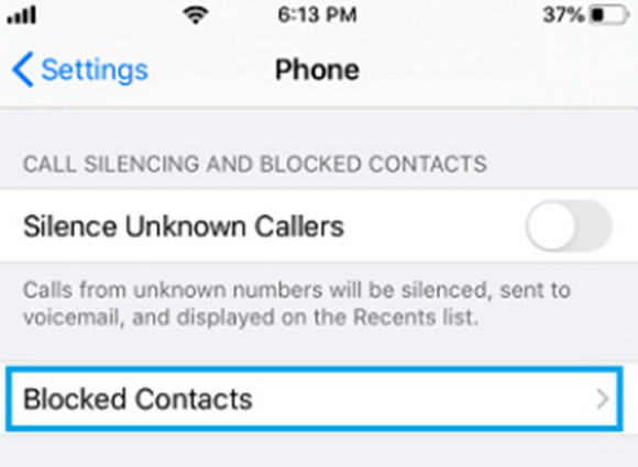 what-to-do-before-fixing-iphone-not-receiving-calls-blocked-contacts-4