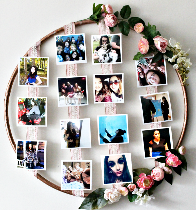 creative-photo-gift-ideas-DIY-flower-photo-hoop