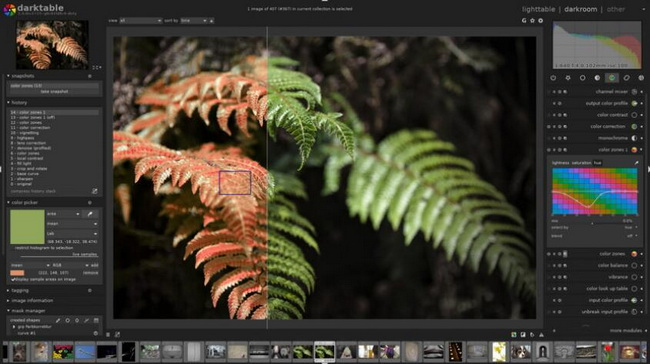 best-photo-enhancers-for-mac-Darktable