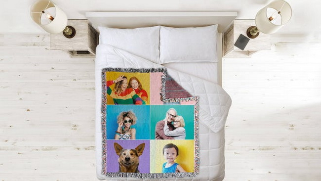 Woven-Image-Throw-Blanket