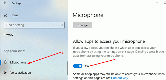 allow-Audacity-to-access-microphone