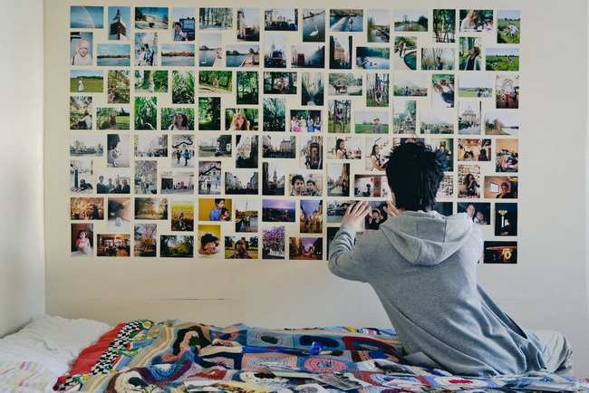 collect-photos-to-make-a-photo-wall