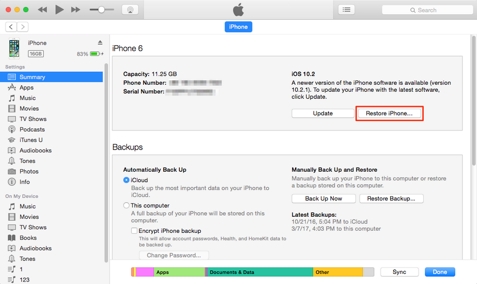 how-to-erase-an-iphone-with-iTunes-5