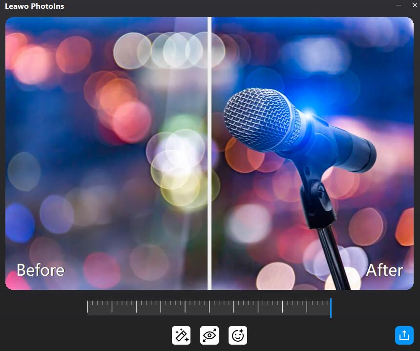 how-to-fix-blurry-photos-automatically-with-Leawo-PhotoIns-02
