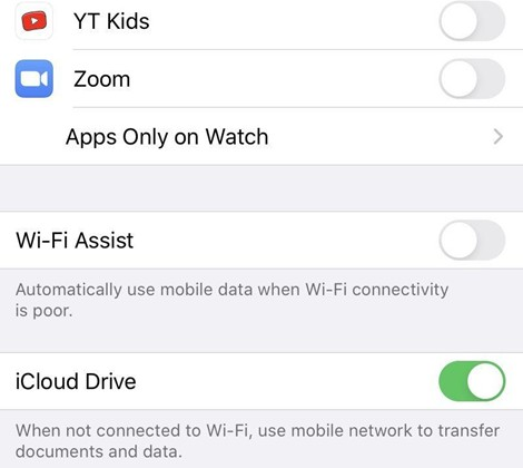 7-methods-to-fix-iphone-keeps-dropping-wi-fi-assist-6