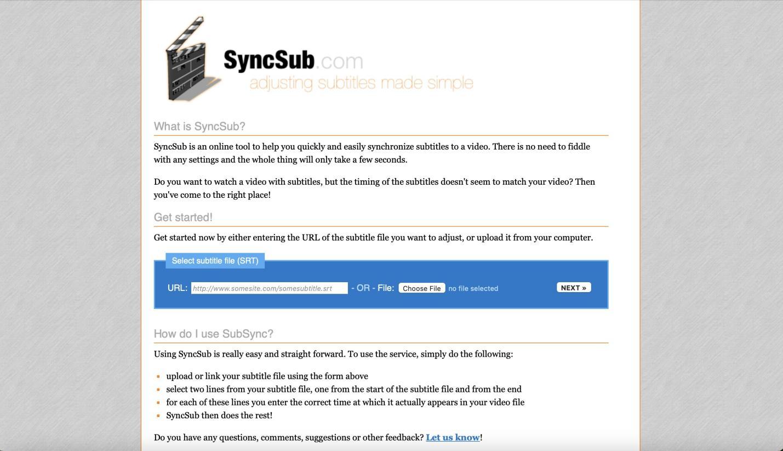 SyncSub