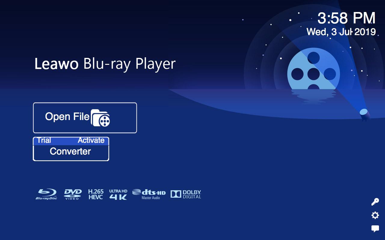Open Blu-ray ISO