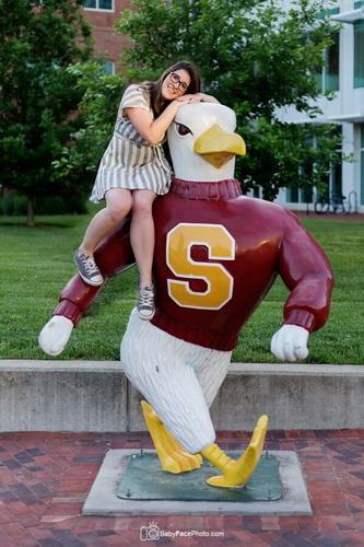 with-school-mascot