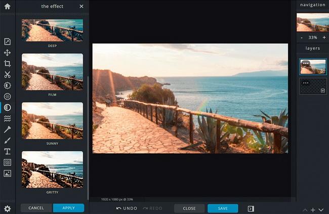 the-best-free-photo-editors-online-Pixlr-X