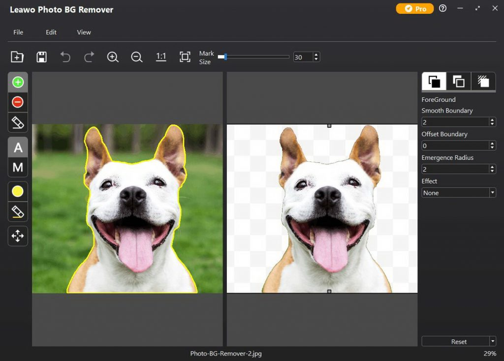 how-to-make-image-black-and-white-in-Leawo-Photo-BG-Remover01