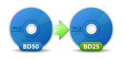 3D BD50 to BD25