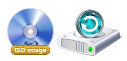 1-click ISO burner