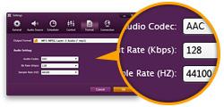 Customize Recording File Parameter