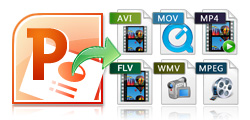 Convert PPT to 150+ video formats