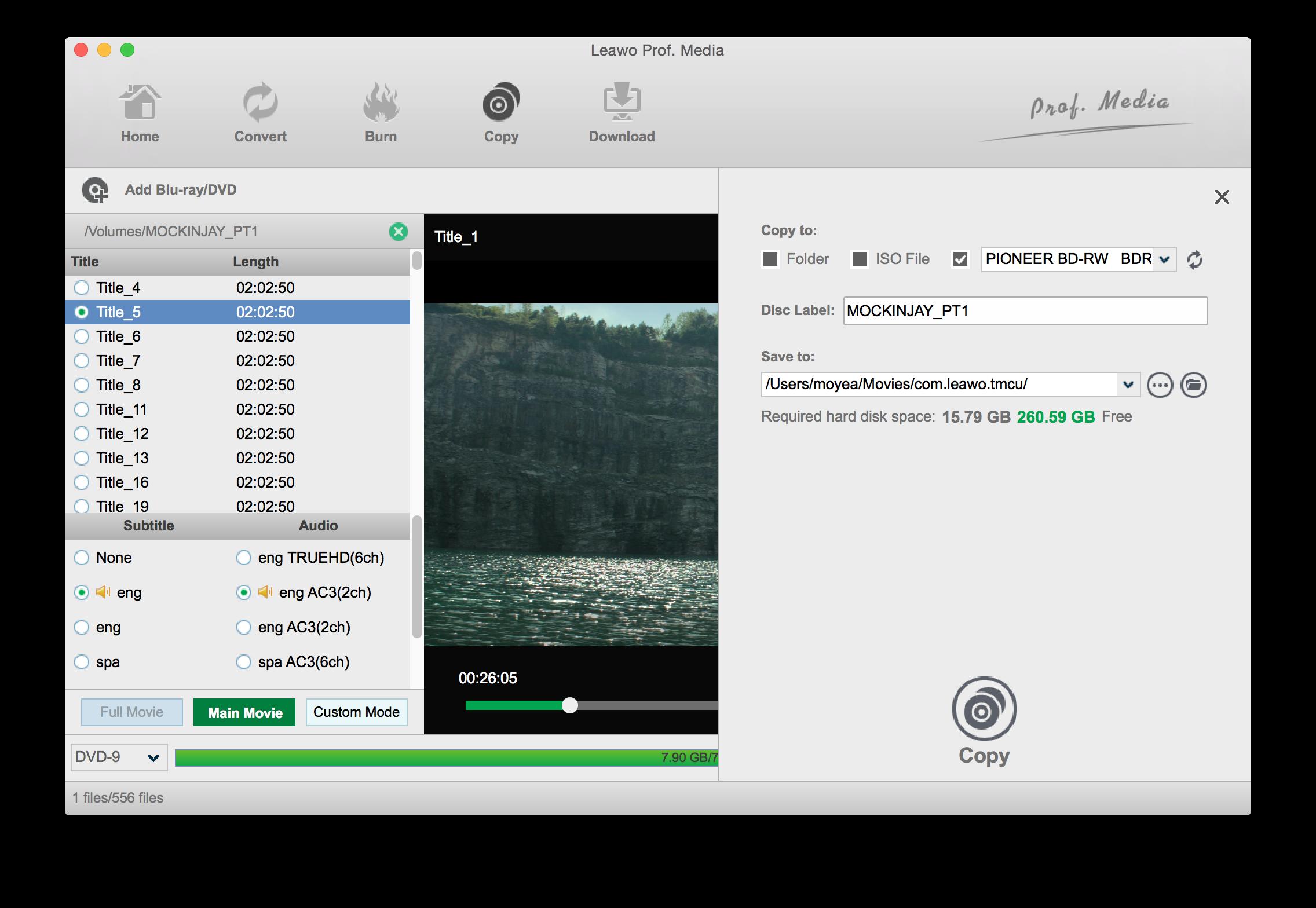 1. DVDFab Blu-ray Creator for Mac